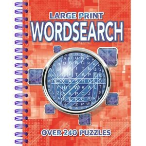 Large Print Wordsearch: Over 240 Puzzles (Paperback), Books, Brand New