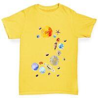 Twisted Envy Boy's Seashell Solar System T-Shirt