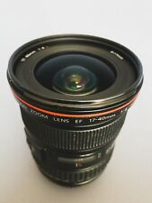 Canon EF 17-40mm F/4.0 L USM Lens - Good condition and optically perfect