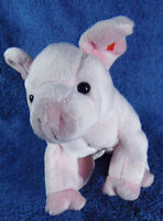 *1915*   TY Beanie 2003 - Hamlet the pink pig - 16cm - plush