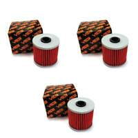 Volar Oil Filter - (3 pieces) for 1989-2004 Kawasaki KLF300 Bayou 300 4x4