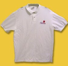 MOLSON CANADIAN - CLASSIC EMBROIDERED LOGO BEER, ALE, POLO, GOLF SHIRT / SZ. M