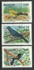 BRAZIL. 1978. Birds Set. SG: 1710/13. Mint Never Hinged.