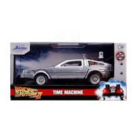 Jada Hollywood Rides: Back to the Future II Time Machine 1/32 Scale