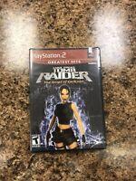 Lara Croft: Tomb Raider -- The Angel of Darkness (Sony PlayStation 2) GH new