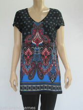 Crossroads Polyester Regular Size Tunic Tops for Women
