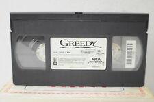 Greedy VHS Movie