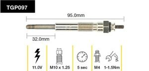 Tridon Glow Plug TGP097 fits Toyota Land Cruiser 60 Series 4.0 TD (HJ61), 80 ...