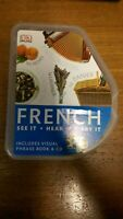 DK FRENCH see it, hear it, say it. CD set. Language Learning Pack / Course