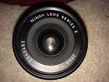 NIKON LENS SERIES E 28mm 1:2.8 Camera Lens, Made in Japan