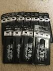 Skull Face Mobile Wallet 3-in-1 Cell Phone Stand Cord Wrapper 3M Adhesive Lot