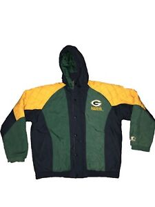 Green Bay Packers Starter Jacket Tagged L