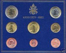 BU VATICAN 2002 8 pièces 3,88 EURO Vatikan Vaticano Ватикан Watykan Vaticaan
