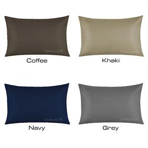 100% Natural Bamboo Pillowcase - Sateen 300 Thread Count - Standard size