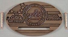 Coin Slot for Post Office Box Door Bank-Antique Bronze/Copper Tone Metal Finish