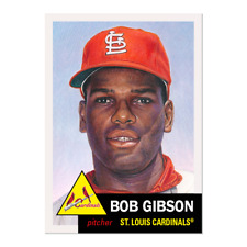 Topps MLB® Living Set® Card #354 - Bob Gibson St. Louis Cardinals PRE ORDER