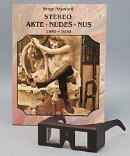 Serge NAZARIEFF Stereo Akte ART NUDES Nus SEALED w Stereoscope HARDCOVER