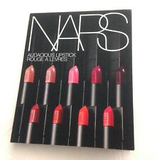 NARS Audacious Lipstick Sampler with 8 different Lip Colors! All new/ sealed!