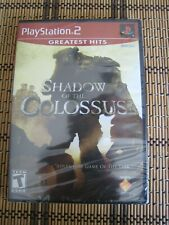 Shadow of the Colossus (PS2) Sealed. NEW MINT RARE GAME. RATED TEEN=NEW SEALED