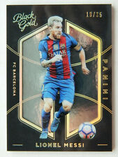 2016-17 Lionel Messi Panini Black Gold SSP Base card 19/35