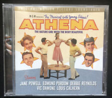 Athena CD Original Motion Picture Soundtrack Jane Powell Edmund Purdom & More