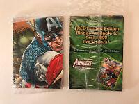 THE AVENGERS KREE-SKULL WAR 2011 SDCC PROMO CARD SET (Sealed) 9 Cards + 1