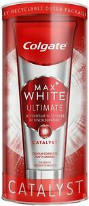 Colgate Max White Ultimate Catalyst Toothpaste 75 ml, Teeth Whitening