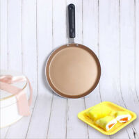 Gold Non-stick Saucepan Frying Pan Gas Induction Cooker Skillet 6''/8''/10''