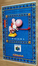 Yoshi Nintendo 64 / Sailor Moon very rare Retro Poster 80x55cm