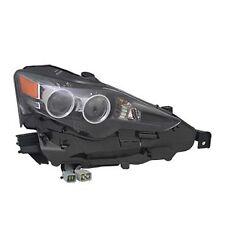LEXUS IS250 IS350 2014 RIGHT PASSENGER LED HEADLIGHT HEAD LIGHT LAMP 81185-53751