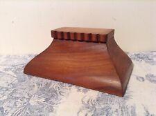 Vintage French Wooden Furniture Part - Plinth