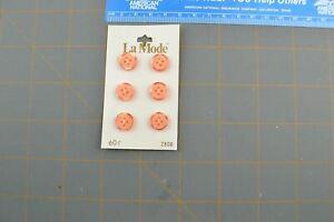 Vintage Button Plastic Round Retro Style B-212