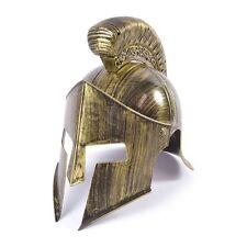 Adulto's Full Spartano Casco-Antico Guerriero Gladiatore Romano Costume