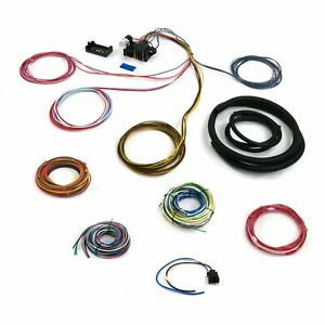 Universal Complete 8 Circuit Wiring Harness update Kit Chevy GM Ford Hot Rod ca