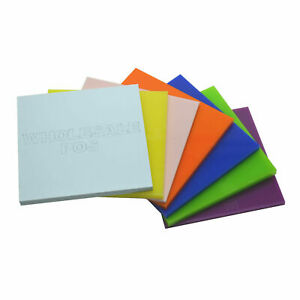 Acrylic Perspex® Sheet 3mm Plastic Cut to Size / 100+ Colours / A5 A4 + Custom