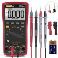Digital Multimeter Meter Amp Ohm Voltmeter AutoRange Volt Tester AC DC New