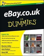 Ebay. Co. UK for Dummies by Marsha Collier, D. Wilson, Steve Hill and Jane...