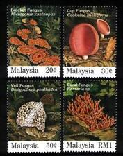 1995 MALAYSIA FUNGI (4v) MNH