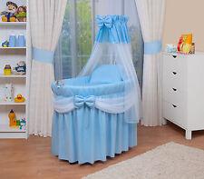 WALDIN Baby Culla per neonato Passeggino,XXL nuovo blu/Bianco