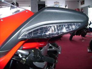 Schwarze Front Blinker MV Agusta F3 675 800 smoked signals frecce nero