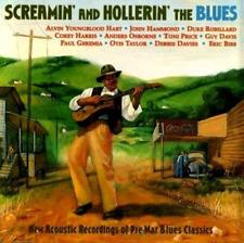 """SCREAMIN' AND HOLLERIN' THE BLUES"" Pre-War Classics (CD 2000) Shanachie +++"