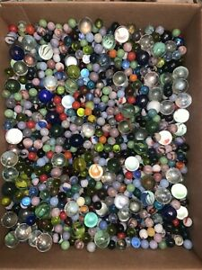 Lot of 40 Marbles from Estate READ DESCRIPTION!