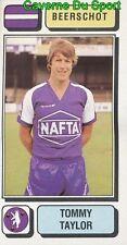 048 tommy taylor england k. beerschot. vav sticker football 1983 panini
