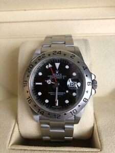 Rolex Explorer ll Black Dial 40mm Men's Watch - Box and Papers - 2015