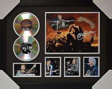 Bon Jovi Signed Framed Limited Edition Memorabilia 2CD V2