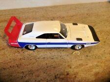 1969 Dodge Daytona White KEITH BLACK 1:18 Ertl American Muscle 33437