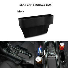 Universal Car Seat Crevice Gaps Storage Box Organizer Black Interior Accessories