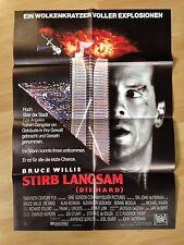 Filmposter * Kinoplakat * A1 * Stirb langsam - Die hard * EA 1988 * Bruce Willis