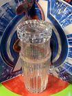 VINTAGE MASONIC LOGO TIFFANY & CO. CUT CRYSTAL ICE WATER CARAFE W/DRINKING GLASS