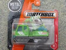 Matchbox 2017 #059/125 HAIL CAT green MBX Heroic rescue New Casting Case D